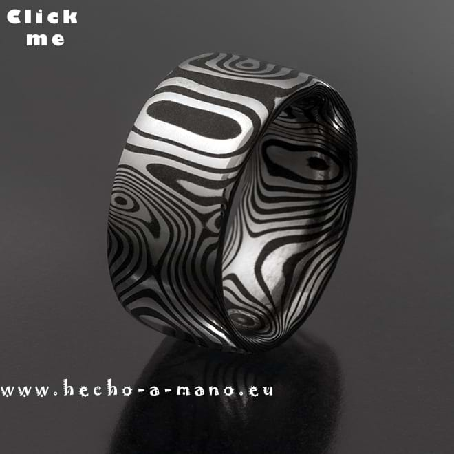 Damascus Steel Ring Orpheus' Ring (click for Details)